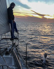 Sailing from Sicily to Spain